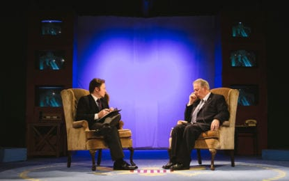 THEATER REVIEW: Sir David vs. Tricky Dick