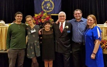 Gideon installed as NYSMA president
