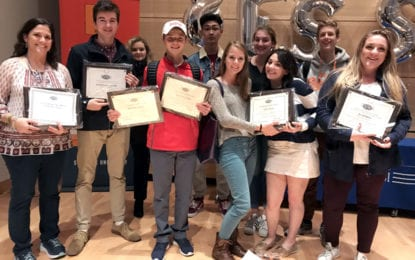 MPH student magazine wins 45 awards at ESSPA Conference