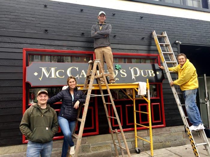 Irish pub opens on Albany Street