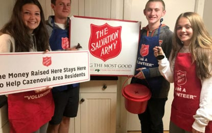 Red Kettle Campaign recruiting student volunteers