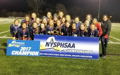 Bees roar to girls soccer state Class AA championship