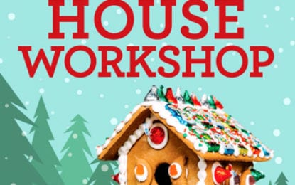 Library, FOL to present gingerbread house workshop