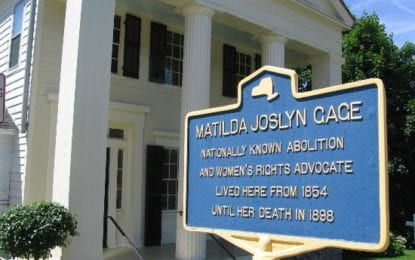 Celebrate Matilda Joslyn Gage's birthday by registering to vote