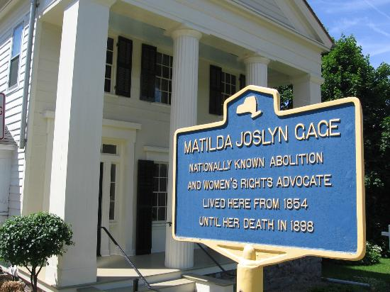 Book talk on women's suffrage this Friday at Gage Center in Fayetteville