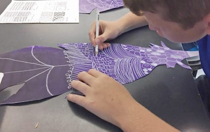 NPE students use art to express 'What Lifts You'