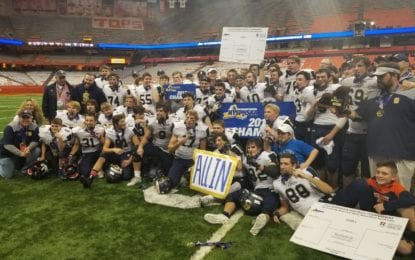 Skaneateles football claims first state championship