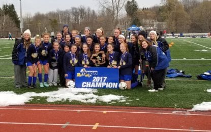 Westhill girls soccer shares state Class B title