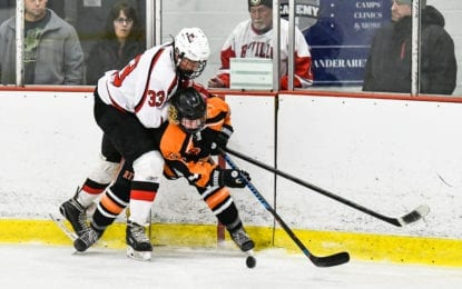 B'ville hockey blanks RFA, 5-0