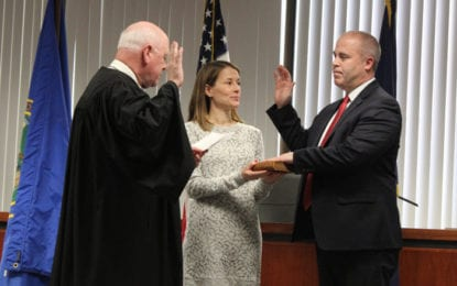 New county officials sworn into office