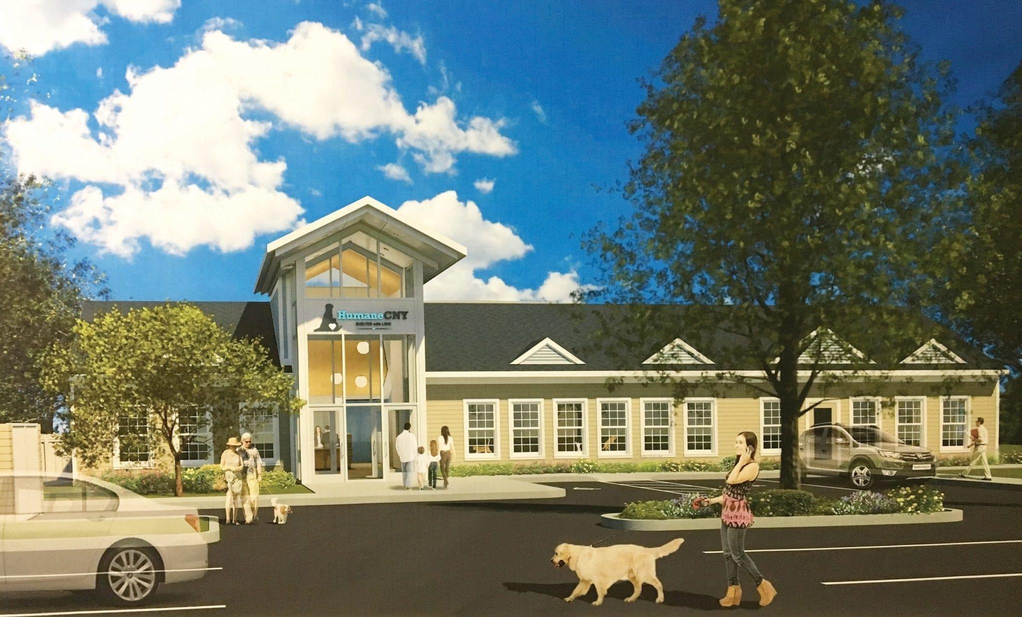 In the doghouse: HumaneCNY raising money for $2 million shelter renovation