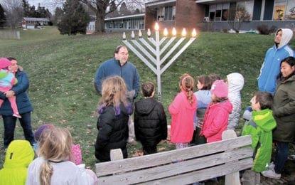JCC community menorah lightings start Dec. 12