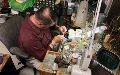 IN PROFILE: Harry Stewart – 40 years a jeweler and a lifetime of emergency medical experience