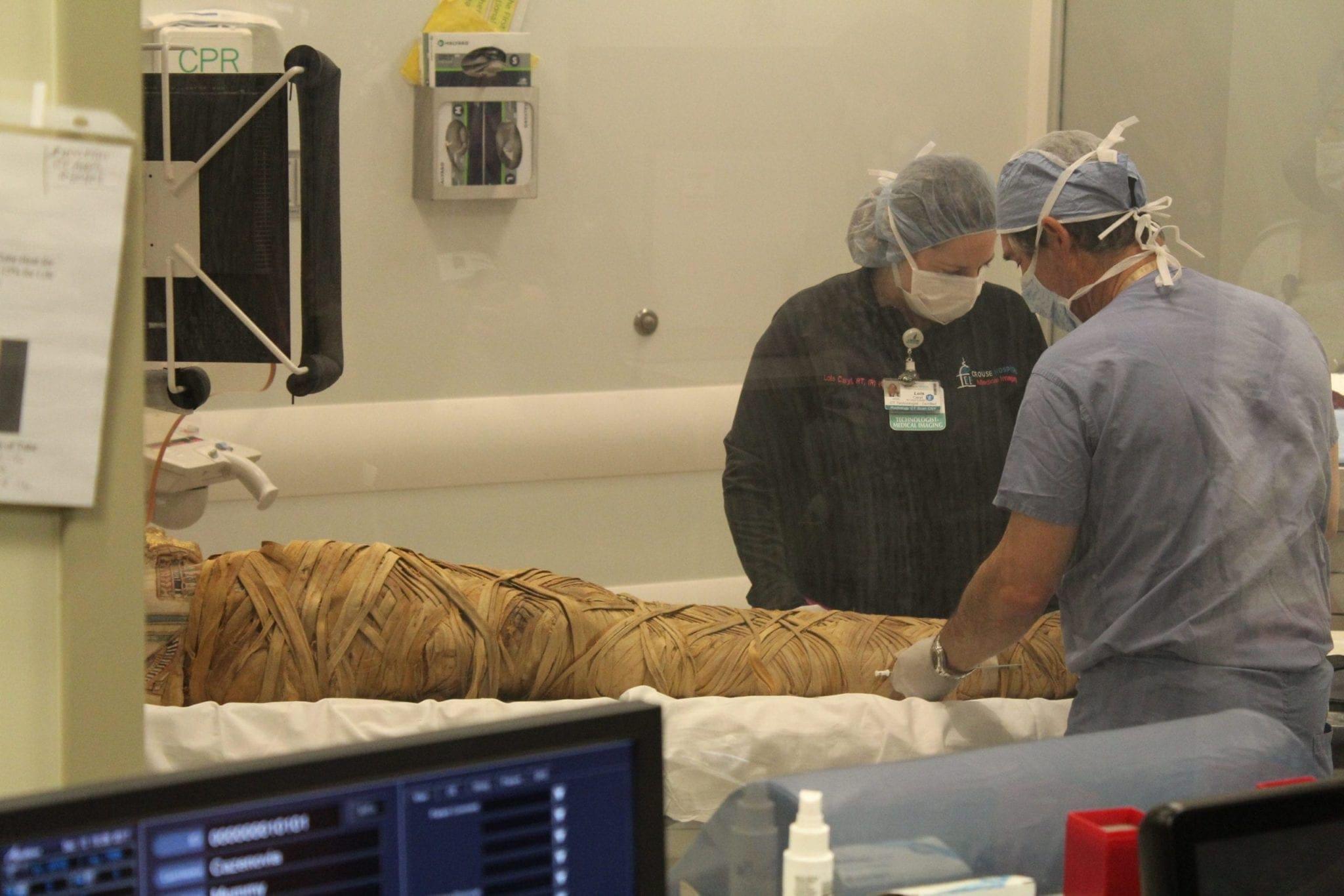 Cazenovia mummy makes hospital visit to undergo medical testing