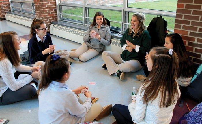CBA Peer-2-Peer Club unites junior and senior high students