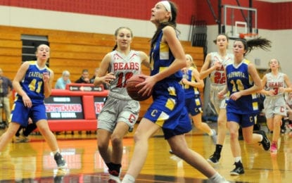 Girls basketball Bears edge Lakers, 42-41