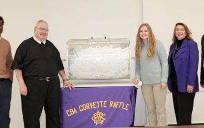 CBA announces winners of annual corvette raffle
