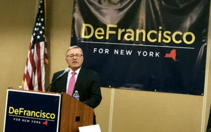 DeFrancisco announces bid for governor