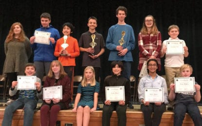 F-M middle school students shine in annual Geography Bee