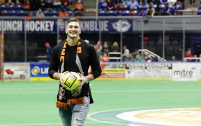 MLS Cup champ, Baker grad honored by Silver Knights