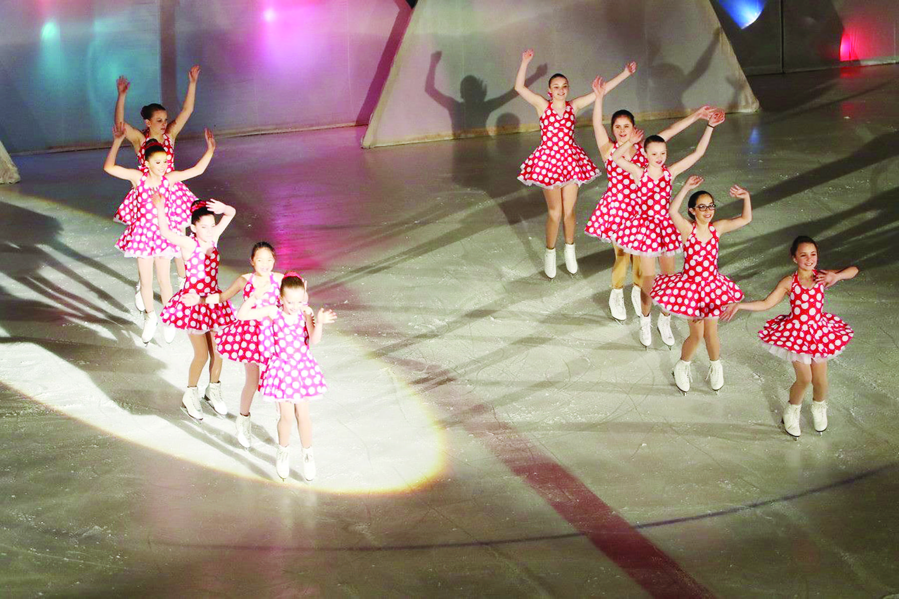 Light it up: Lysander Ice Arena competes for new LED lights