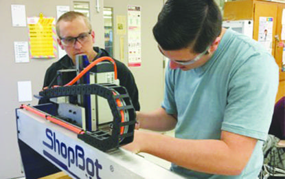 J-E students using new tech
