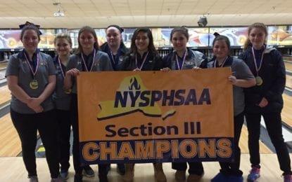ESM girls bowlers are sectional champs
