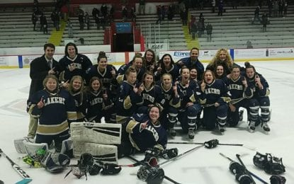 Skaneateles girls hockey are sectional champs