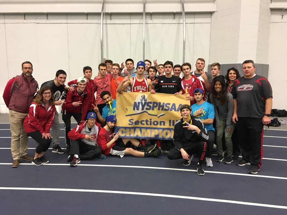 Bees are sectional Class AA indoor track champs