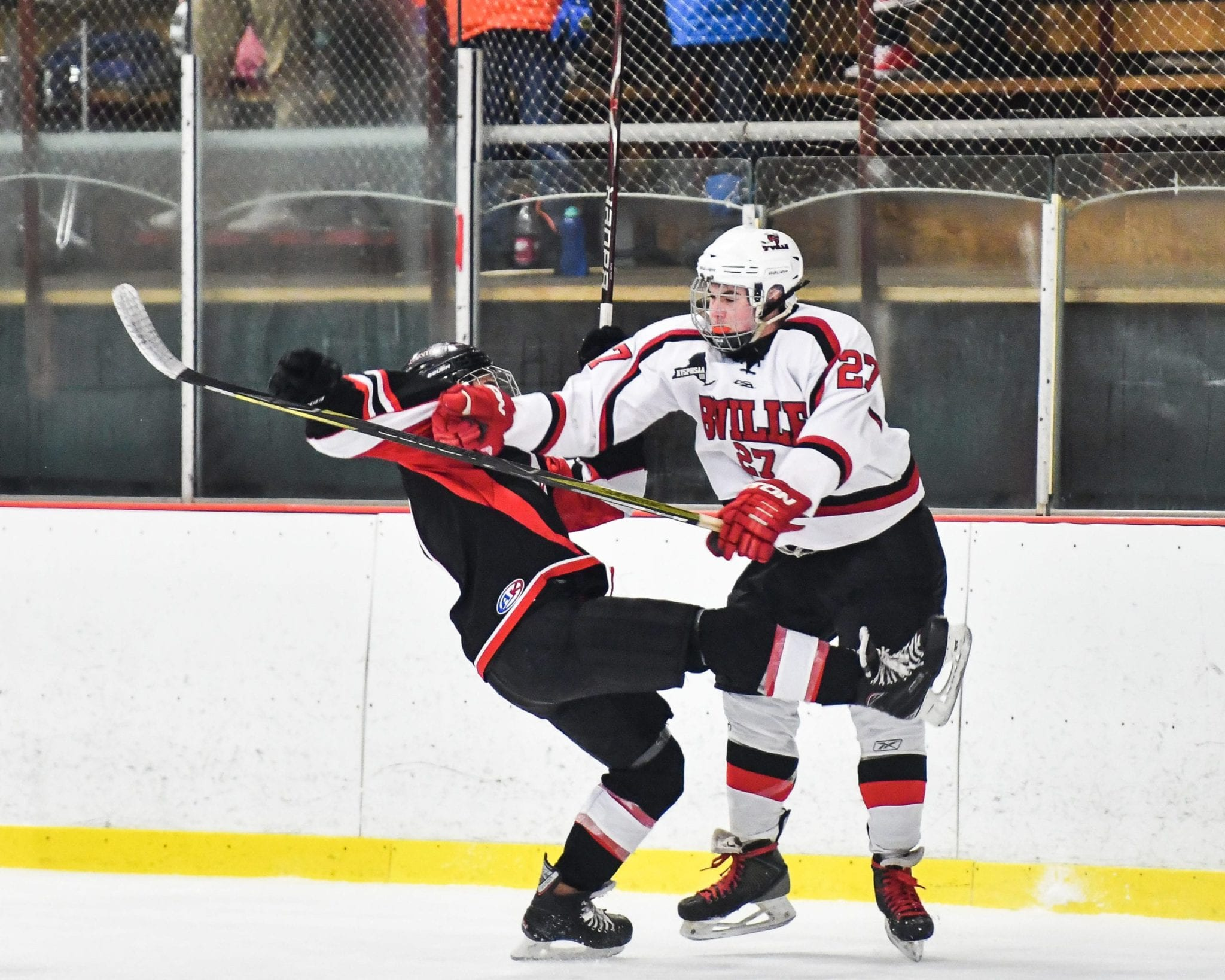 B'ville hockey hangs on for playoff win over Mohawk Valley