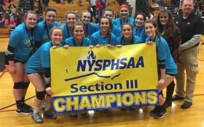 Bears repeat as girls volleyball sectional champs