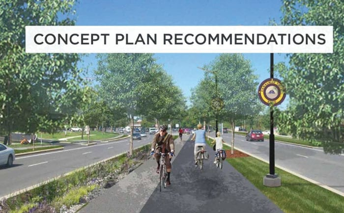 Erie Concept Plan proposes multi-use path along Erie Boulevard