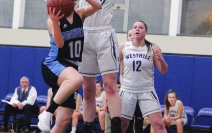 Westhill girls tripped up by Bishop Grimes