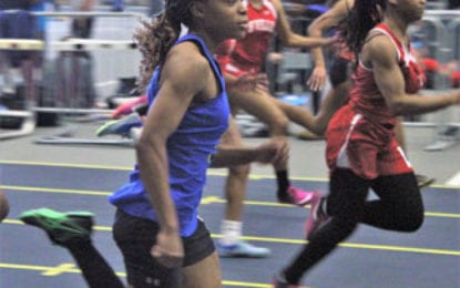 Indoor track Lakers compete at state qualifier