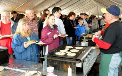 Dewitt Rotary's 64th Annual Pancake Day set for May