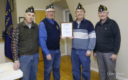 Markowski named Post 88 Legionnaire of the Year