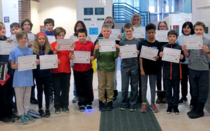Middle school Citizens of the Quarter announced