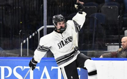 Syracuse Cougars beat B'ville for sectional hockey title