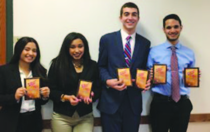 WG students are recognized for business know-how