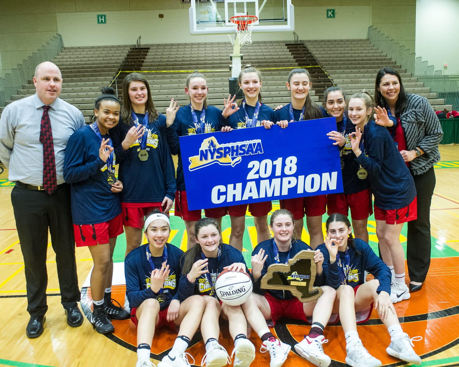 J-D girls basketball earns third straight state title (W/photo gallery)