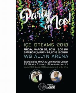 Skaneateles Figure Skating Club Ice Show @ Skaneateles YMCA        
