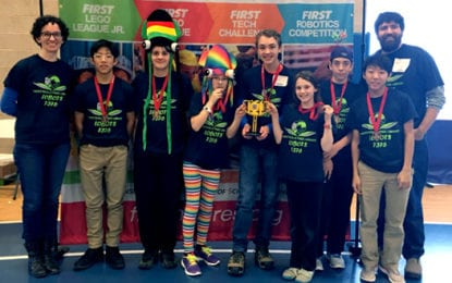 FFL Lobots win award at regional championship