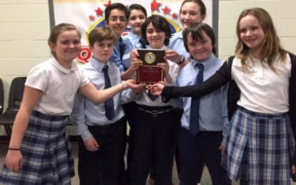 Immaculate Conception School Drug Quiz Team wins first place