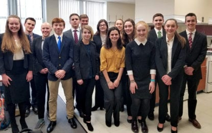 CHS Mock Trial team wins in first round of competition