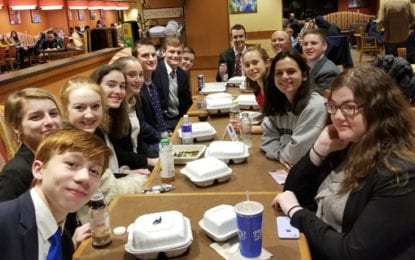Mock trial team prevails in second round