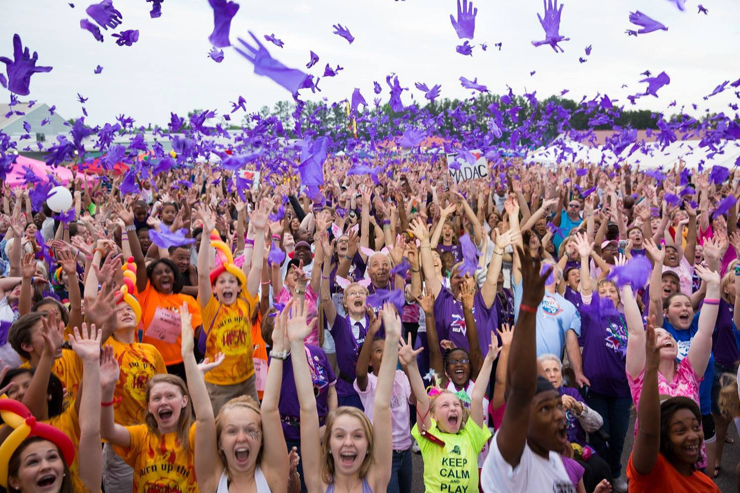 Passing the torch: Three Relay for Life groups join forces for 'Fight Cancer Fest'