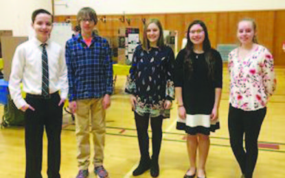 Camillus middle school students demonstrate scientific knowledge