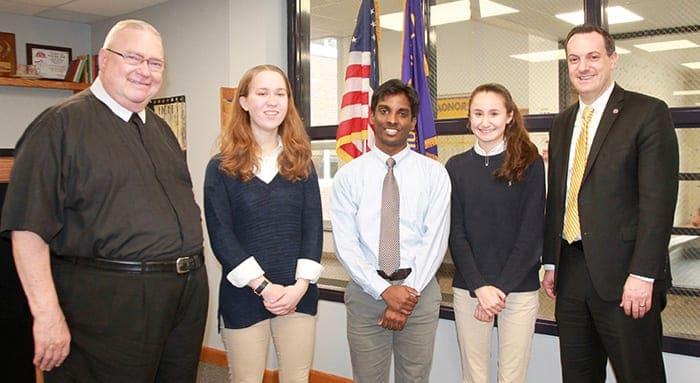 Three CBA students named National Merit Scholarship finalists