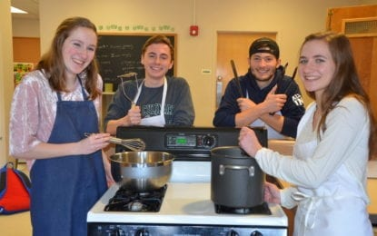 Skaneateles seeniors host pasta dinner and sophomores bring the circus