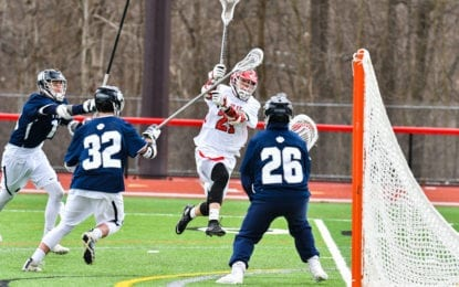 Boys lacrosse Bees get even with Pittsford